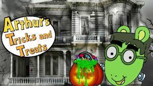 pbs kids arthur tricks or treats free games full episode family fun superkidsgames