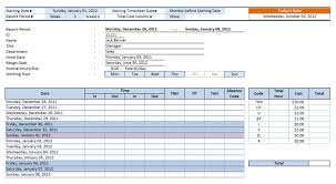 Time Sheet Doc 032 Template Ideas Biweekly Timesheet Excel Employee Time