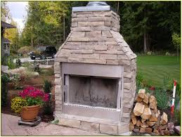 prefabricated outdoor fireplace kits for cute premade outdoor fireplace