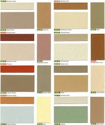 Exterior Stucco Color Chart Stucco Colors Chart Imasco Color Chart 3 M Md