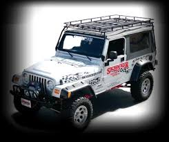 off road unlimited roof racks wilderness expedition safari basket roof rack 1097 jeep tj