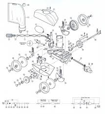 Polaris model 280 vac sweep replacement part schematic