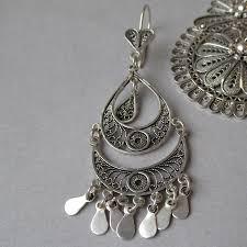 pretty design ideas sterling silver chandelier earrings 1