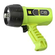 Uk Dive Light Uk C8 Eled L2 Rechargeable Dive Light