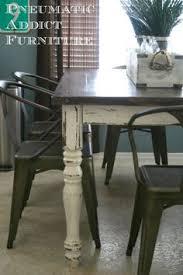industrial farmhouse table interiordecorinspiration tables
