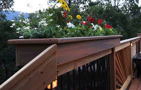railing planters diy