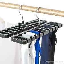 new arrival plastic tie belt scarf rack organizer closet wardrobe space saver hanger with metal hook plastic tie belt necklace rack