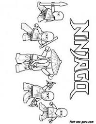 Small Picture Ninjago Printables Lego Ninjago Coloring Pages Printable