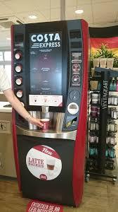 Costa Vending Machine Mesmerizing Costa Coffee Express Coffee Tea Hanauer Landstr 48 Ostend