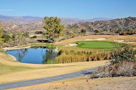 a very green green stands in stark contrast to the brown gr at robinson ranch golf club in canyon country in oct 2016 katharine lotze signal