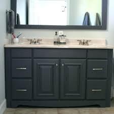 how to paint a bathroom vanity an oak can you painting countertop home improvement