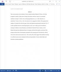 Example Of Apa Essay Paper Example Of An Research Paper Abstract Sample 3 Rosemarygemmell