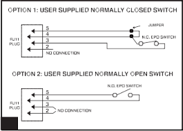 cabling normally closed emergency power off ups wiring network epo diagram courtesy of tripp lite