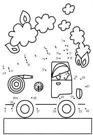 Idees Propos Coloriage Camion Pompier Sur Idees Dessin Et Pompier