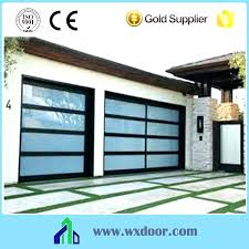 all glass garage door doors cost full image for frosted supplieranufacturers at s modern