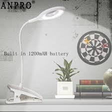 Anpro USB <b>LED Desk Lamp</b> Touch Sensor Control <b>Stepless</b> ...