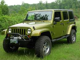 2007 jk rescue green 4door 4wd
