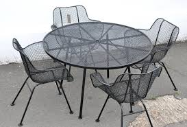 extraordinary mesh wire outdoor chair metal patio furniture and