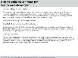 Web Developer Cover Letter Sample Image Of Web Developer Cover