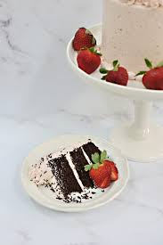 Add the powdered instant pudding mix, increase the speed, and whip until the chocolate cake filling is thick and fluffy. Strawberry Buttercream W Perfect Chocolate Cake Recipe