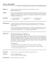 Sample Resume Skills For Customer Service Examples Of Customer