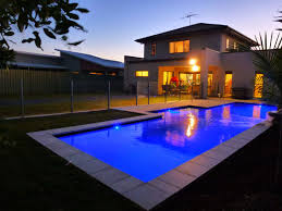 home swimming pools at night. Finished Pool, Night Time Shot MACINTOSH. Home Swimming Pools At S