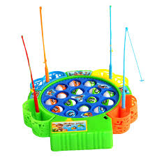 Green Magnet Fishing Light Review Us 7 37 25 Off Baby Educational Toys Fish Musical Magnetic Fishing Toy Set Fish Game Educational Fishing Toy Child Birthday Gift In Fishing Toys