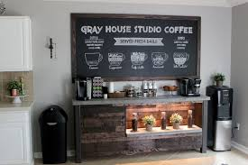 coffee bar. Coffee Bar Diy To Inspire You How Make Look Magnificent 1