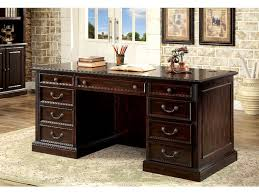 home office furniture cherry. Brilliant Home Furniture Of America Office Desk Cherry CMDK6208DSET Intended Home R