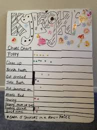 Easy Chore Chart For Kids To Make So Easy And Kyleigh Had