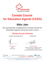 Icef Certified Agents In India