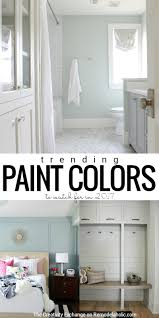 interior paint colors for 2017Remodelaholic  Paint Color Trends for 2017
