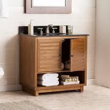 bathroom wood vanity. harper blvd laird granite top bath vanity sink bathroom wood