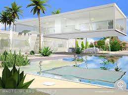 pralinesims white glass house 3