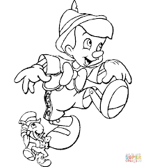 Pinocchio Coloring Pages Free Coloring Pages