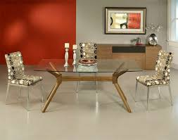 picture frame above credenza combine d with glass top dining table plus voguish upholstered chair