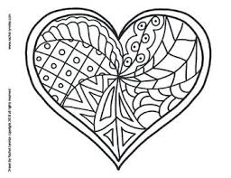 Hearts come in all shapes and sizes, like people. Heart Coloring Pages For Valentine S Day Minds In Bloom