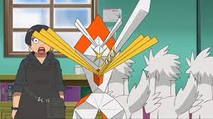 I'm watching episode 124 of the pokemon sun and moon anime, does ...