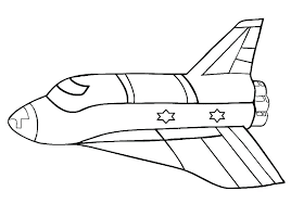 Space Ship Coloring Page Rocket Pages Plus Mickey Mouse Alien