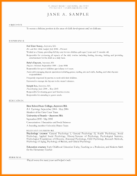 Childcare Cover Letter Example Awesome Daycare Assistant Resume