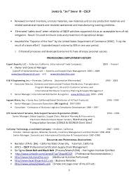 Supply Chain & Logistics Resume 3 21-2013