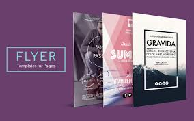 Flyer Template For Pages 30 Brochure Template For Mac Andaluzseattle Template Example