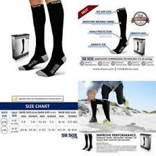 Sb Sox Size Chart Details About Sb Sox Lite Compression Socks 15 20mmhg For Men Women Premium Lightweight