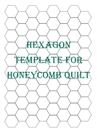 Awesome Hexagon Quilt Pattern Template Inspirations | Quilt ... & Hexagon Quilt Pattern Template 110 best ideas about quilting hexagons on  pinterest grandmothers Adamdwight.com