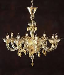venetian chandelier murano glass chandelier eight light hand n clear and gold glass chandelier antique venetian