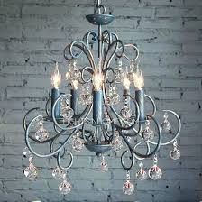 wrought iron crystal chandeliers wrought iron crystal chandelier white wrought