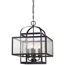 minka lavery camden square aged charcoal four light mini chandelier