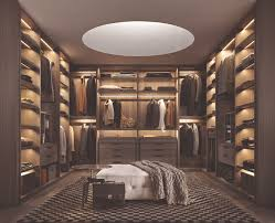 wardrobe lighting ideas. luxury modern walk in closet by poliform wardrobe lighting ideas