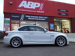 BMW 5 Series bmw 5 series bbs : Alpine White with BBS CH-R