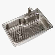 glacier bay all in one drop in stainless steel 33 in 4 hole with regard to 33 x 19 kitchen sink stainless steel kitchen sink from
